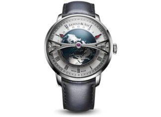 Here is da Dome: Arnold & Son Globetrotter, Baselworld 2018