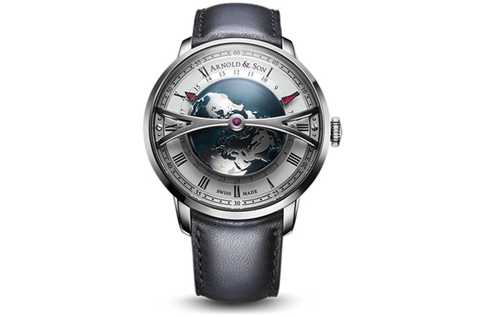 Here is da Dome: Arnold & Son Globetrotter Baselworld 2018