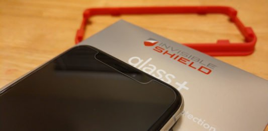 InvisibleShield Glass+ for iPhone X: Better Screen Protection