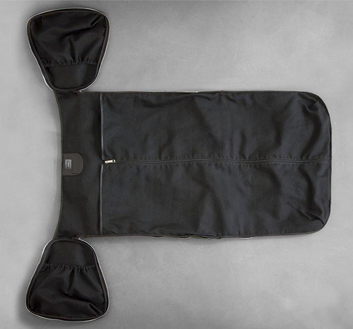 Canvas Weekender Garment Bag: Don't let the wrinkles get you down