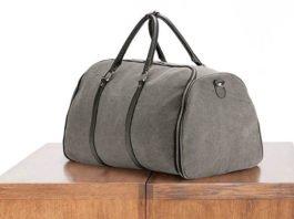 Canvas Weekender Garment Bag: Don't let wrinkles get you down