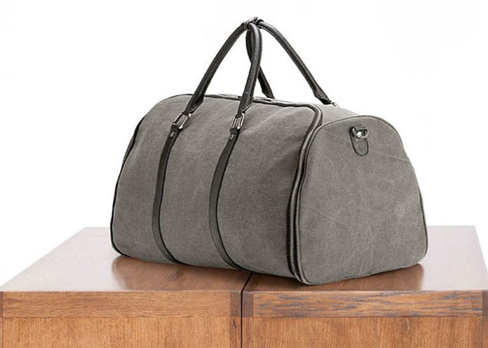 Canvas Weekender Garment Bag: Don't let wrinkles get you down