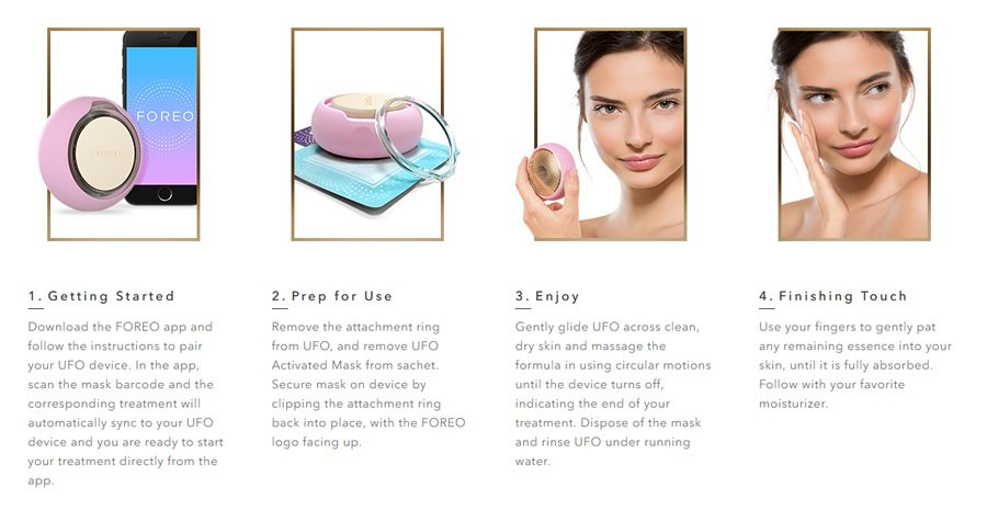FOREO UFO Smart Beauty Mask: Spa Quality Facial in 90 seconds