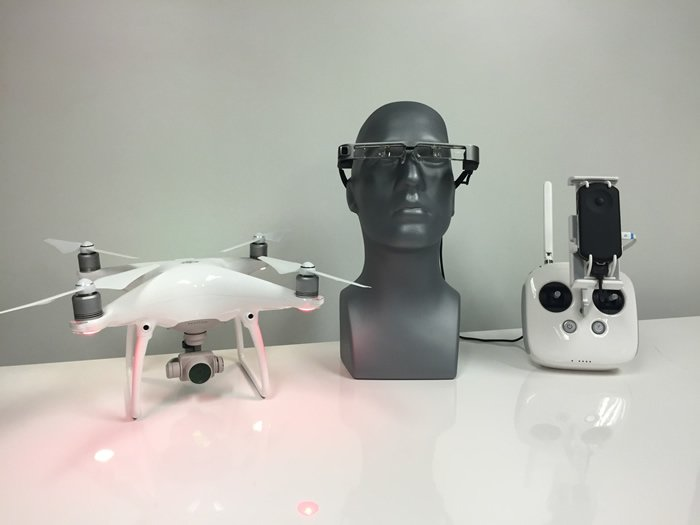 Epson Moverio BT-300FPV DJI Drone Edition: AR Headset gives good FPV