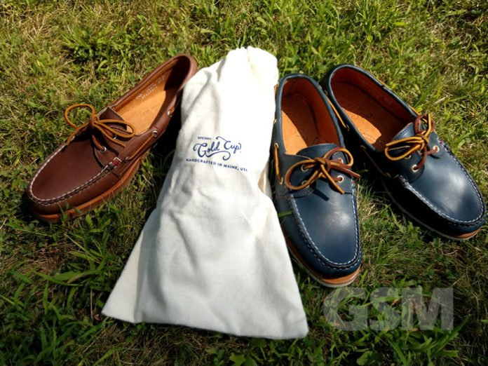 Sperry Men's Gold Cup Handcrafted in Maine Collection: The Ultimate Boat Shoes