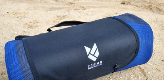 CGear Sand Repellent Mat Review: Learn to Love Sand again
