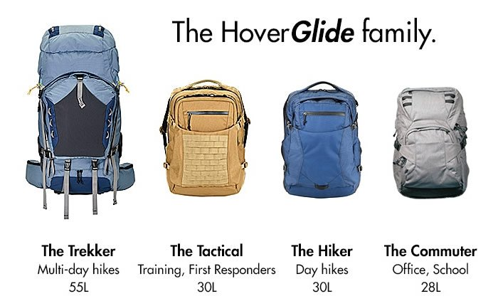 HoverGlide Floating Backpack; It's all in the physics