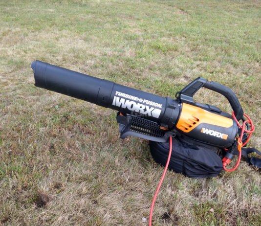 Worx WG510 Turbine Fusion Leaf Blower, Mulcher, Vac Review