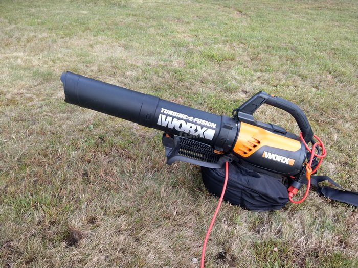 Worx WG510 Turbine Fusion Leaf Blower, Mulcher, Vac Review: Make Fall Cleanup Easier
