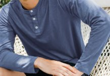 Men's Classic Short & Long Sleeve Henleys by Taylrd; It's Casual