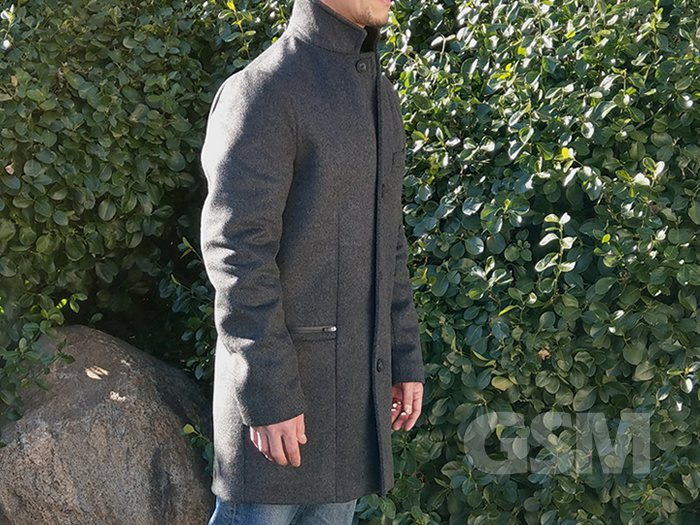 Bordin StormLux Wool Cashmere Overcoat: Style meet Performance