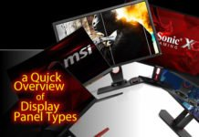 a Quick Overview on Display Panel Types
