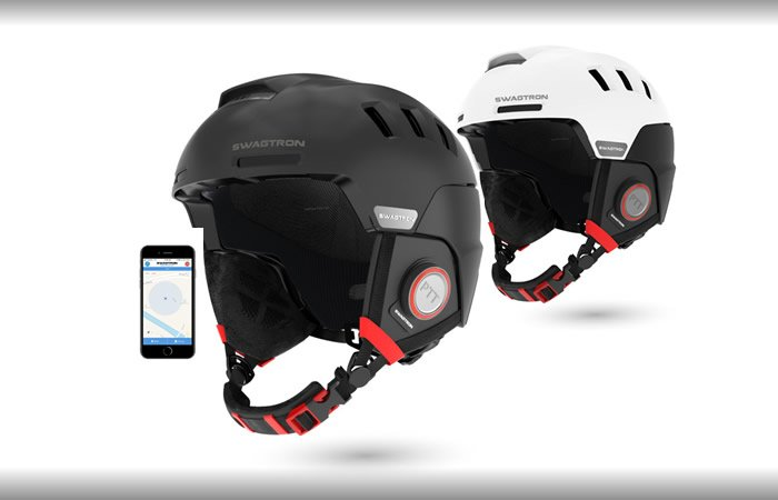 Swagtron Snowtide Smart Helmet: Keep in Touch with your Crew Hands Free