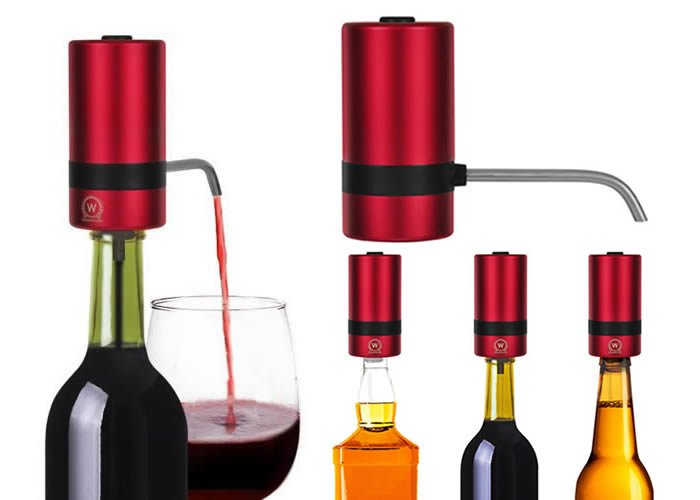 Waerator W2 instant 1-button electric wine Aerator, Top 10 Modern Home Tech Gifts