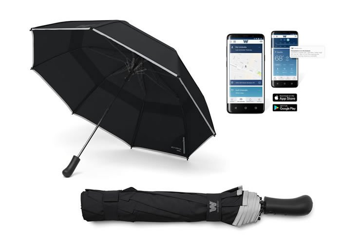 Weatherman Connected Collapsible Umbrella, Top 10 Modern Home Tech Gifts