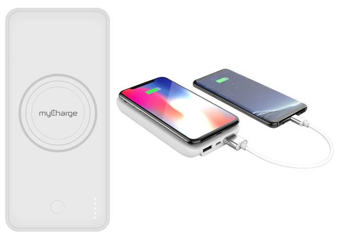 Top 5 Gadgets 18/19: myCharge Unplugged 10K Wireless Portable Battery