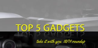 Top 5 Gadgets 18/19: Take it with you