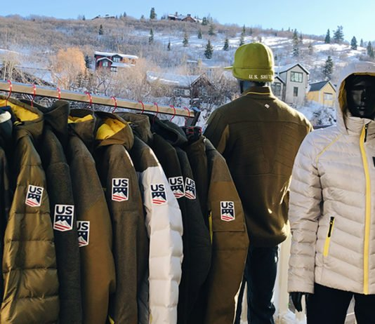 Spyder X US SKi Team Collection at Sundance Film Festival Park City Utah