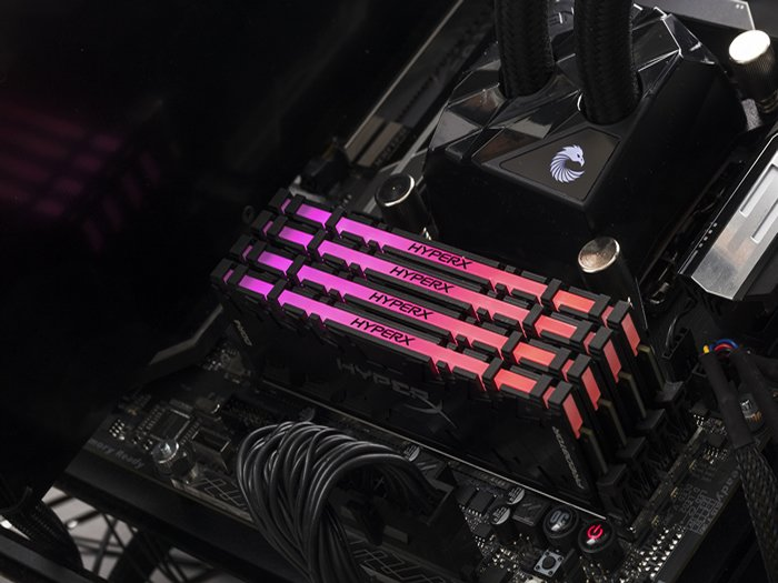 Kingston RAM Predator DDR4 RGB Illuminated Memory