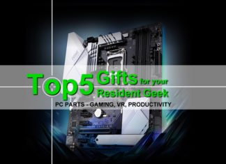 Top 5 Computer Parts, PC Gifts Your Resident Geek will love
