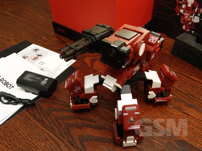 GJS GEIO AR Battle Robot Review