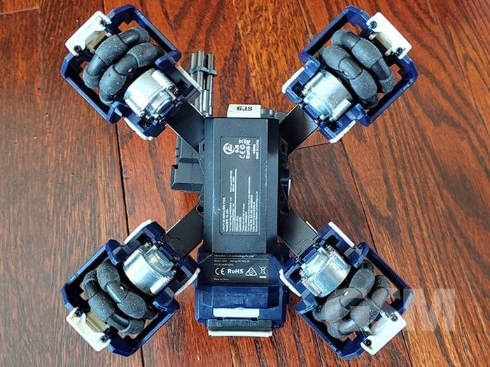 GJS GEIO FPS AR Robot Omni-directional wheels