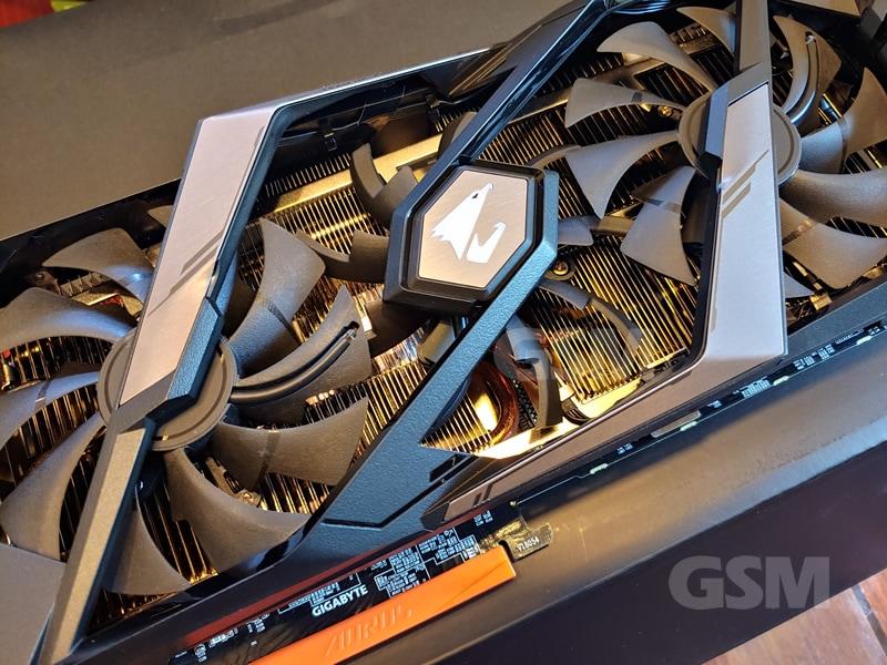 Aorus RTX 2070 Super Triple Fan Cooling