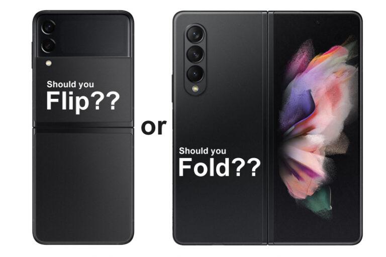 Should you flip or fold? Samsung Galaxy Z Fold3 & Z Flip3 5G